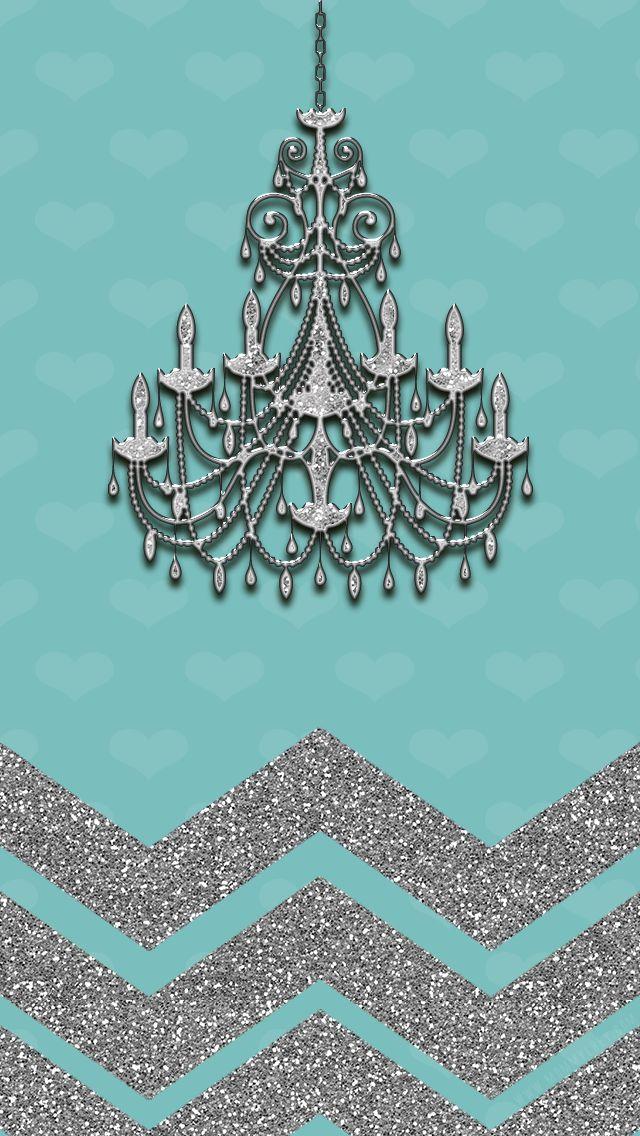 blue chandelier wallpaper - photo #6