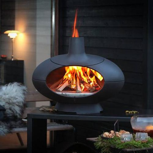 Morso Living Outdoor Cast-iron Pizza Oven - Black