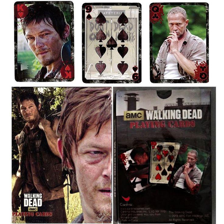 Walking Dead Playing Card Deck Daryl Dixon & Merle Reedus Rooker Season 1 - 2  #AMCFilms