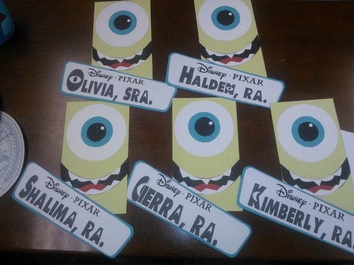 Monsters University themed door decs for the RAu0027s. & 70 best Door Decs- Disney/Pixar images on Pinterest | Classroom ... pezcame.com