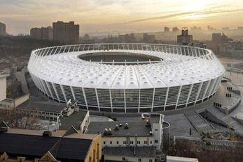 Power-Ranking World Football's 50 Best Stadiums.  Olympic Stadium: Kiev, Ukraine   Opened: 1923, renovated 2011    Capacity: 65,000+    Tenants: FC Dynamo Kiev, Ukrainian National Team    The Ukraine's premier and newly-renovated home to football, the Olympic Stadium hosted the final of the 2012 UEFA European Championship and is the new home to Dynamo Kiev.