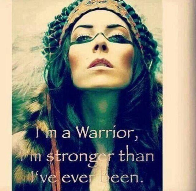 ➳➳➳☮ ~ I am a Warrior