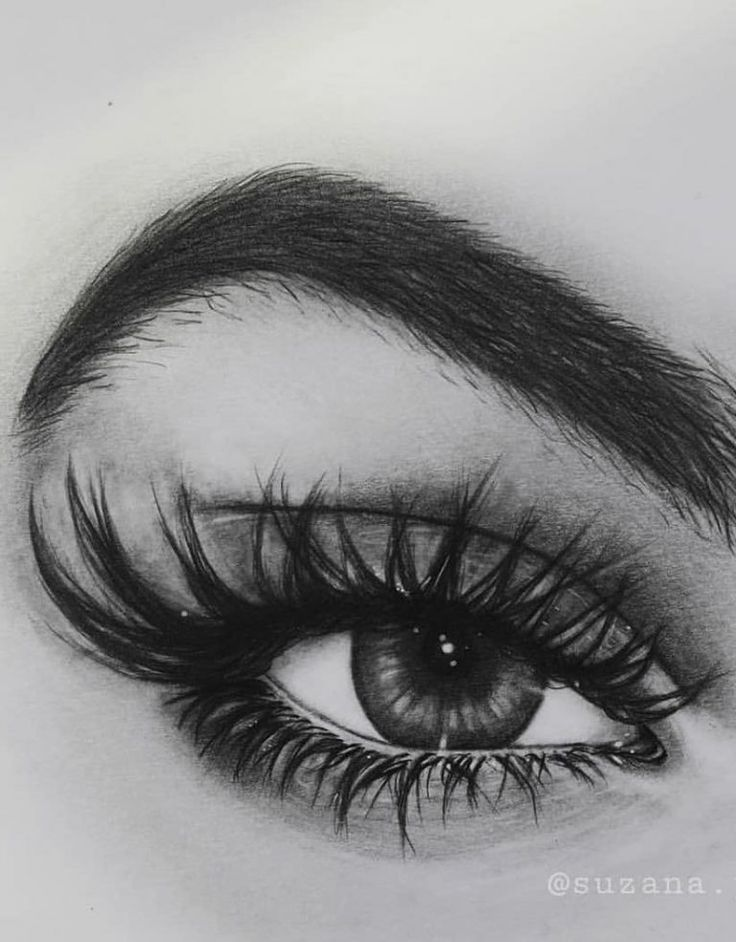 36 Awesome Eye Drawing Images ! How to draw a realistic eye! – Page 13 of 36