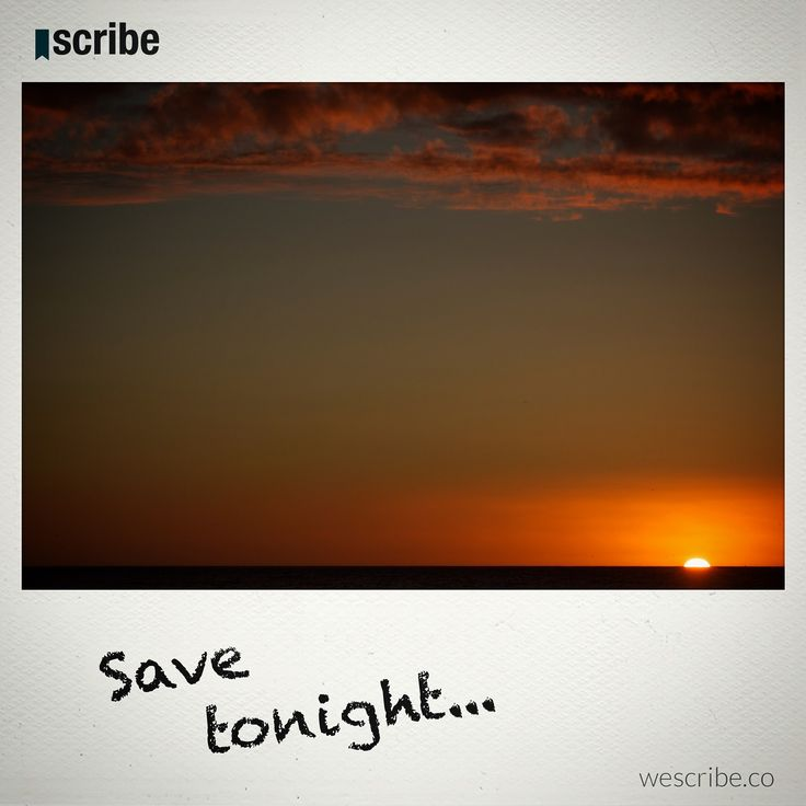 Scribe is THE place where writers enjoy the freedom of being themselves and can benefit from the value they create for the network. Check it out at wescribe.co #sunset #sun #ocen #inspiration #wescribe