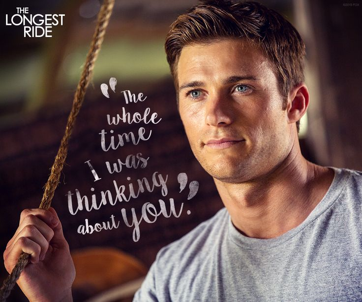 That moment when he says exactly the right thing. #LongestRide