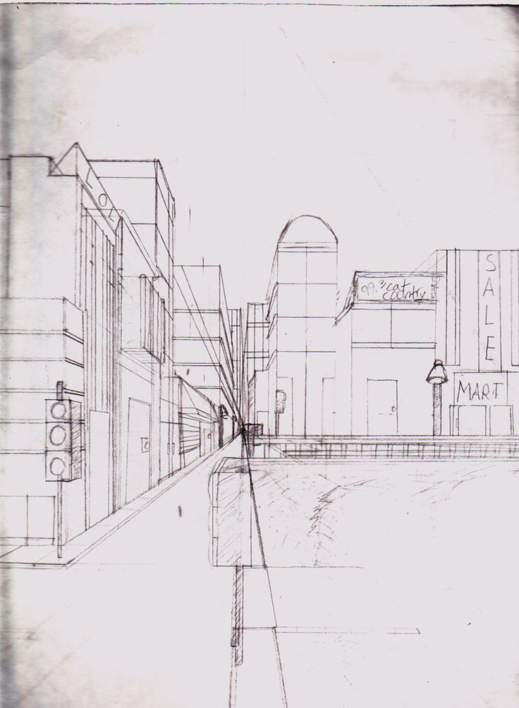 one point perspective lesson plans