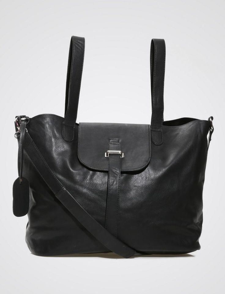 Deena Handbag by Neatly.  Hand bag that look so versatile and can carry a lot of stuffs, pair this handbag with any of your casual or work outfit.  Black hand bag that has a long strap so you can wear it as a sling bag.  http://www.zocko.com/z/JG0jT