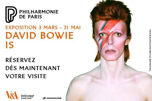 L'exposition - David Bowie is - Philharmonie de Paris