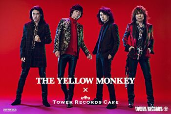 『THE YELLOW MONKEY × TOWER RECORDS CAFE』特典ポストカード