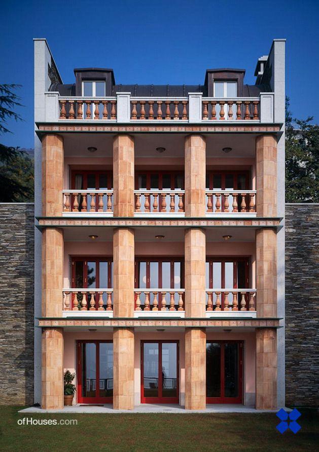 Architecture Italienne De Lagfoule Laila Du Tableau Facade