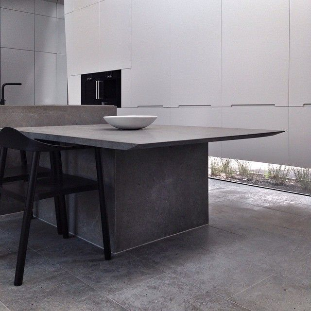High Quality Hecker Guthrie, Monumental Stone Kitchen Landscape At Residential Project  In Middle Park.