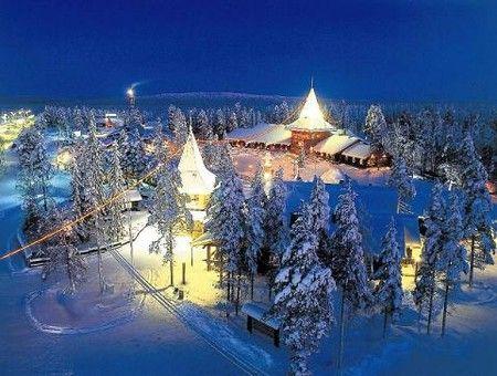 フィンランド サンタクロース村