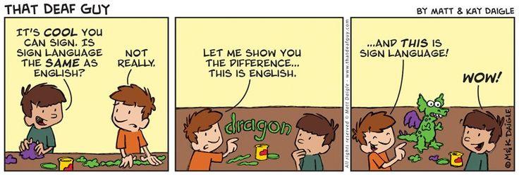 Learn english grammar deaf