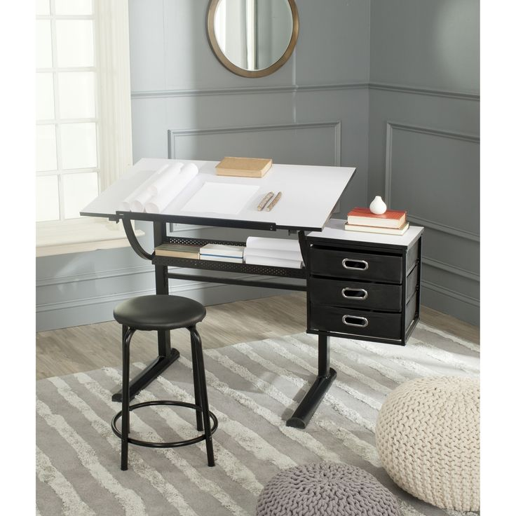 safavieh harvard black white writing desk overstock shopping great deals on safavieh