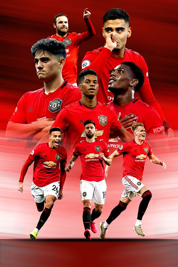 Football Posters 2020 On Behance In 2020 Manchester United Wallpaper Manchester United Poster Manchester United Team