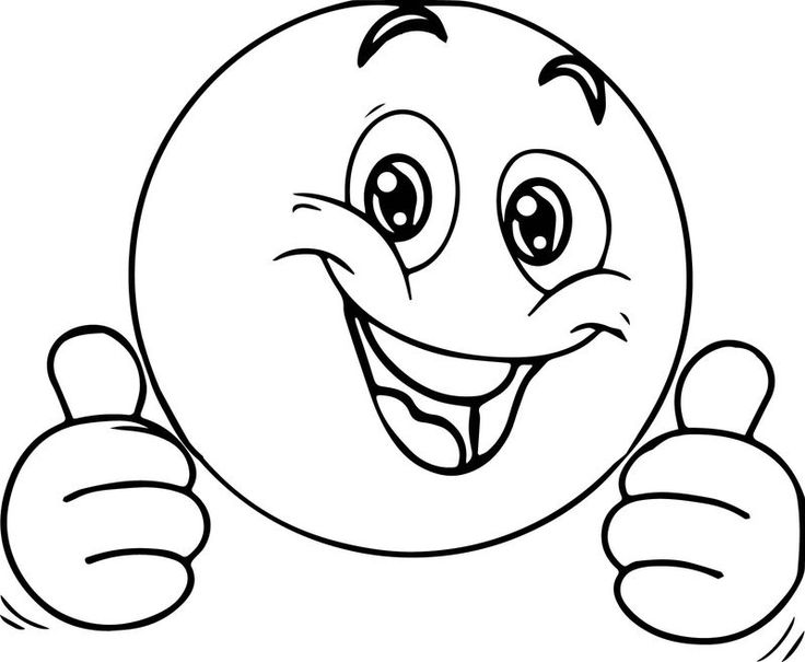 awesome face coloring page | emoji coloring pages