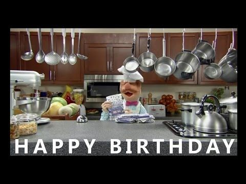 It's my 'little' brother's birthday and he loves the Swedish Chef. I also think he's just too cute. Happy birthday E.