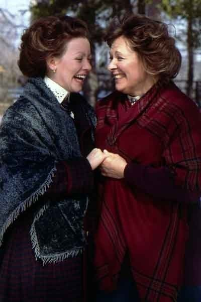 Janet and Felicity King from Road to Avonlea. :) Love this show. . .