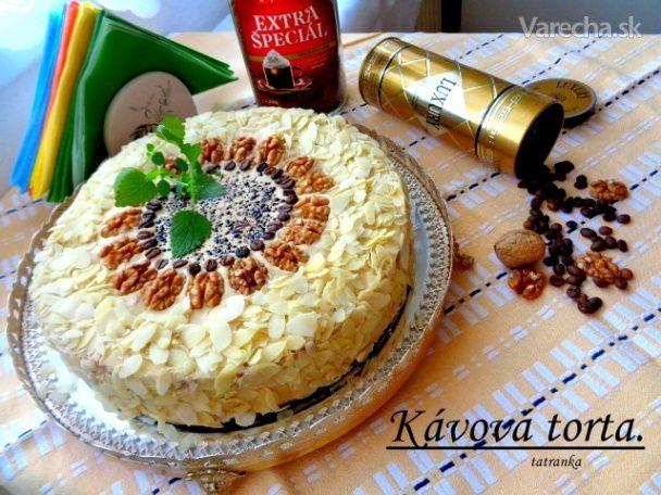 Kávová torta (fotorecept) - Recept
