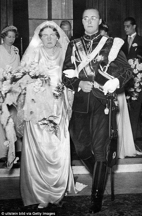 Princess Juliana of the Netherlands, later Queen, met husbandPrince Bernhard of Lippe-Biesterfeld at the 1936 Bavaria Olympics