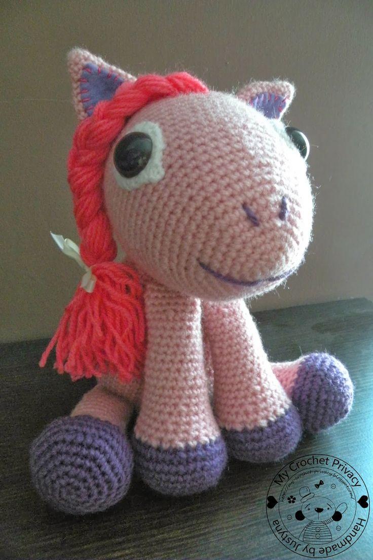 My Crochet Privacy ...: Kucyki / Ponies