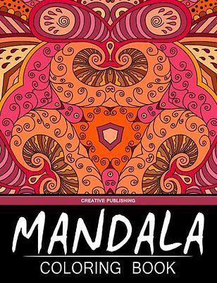 Mandala Coloring Book: Creative Publishing - The Best Coloring Books For Adults (Volume 6)