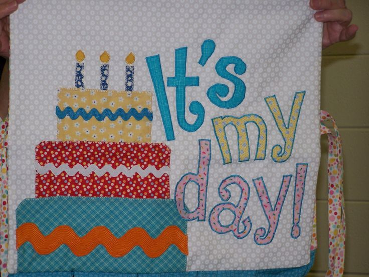 Birthday Chair Cover - Donna M