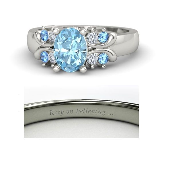 Disney princess rings: Cinderella.