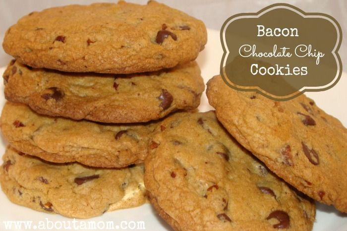 ... Bacon on Pinterest | Candied bacon, Bacon chocolate chip cookies and