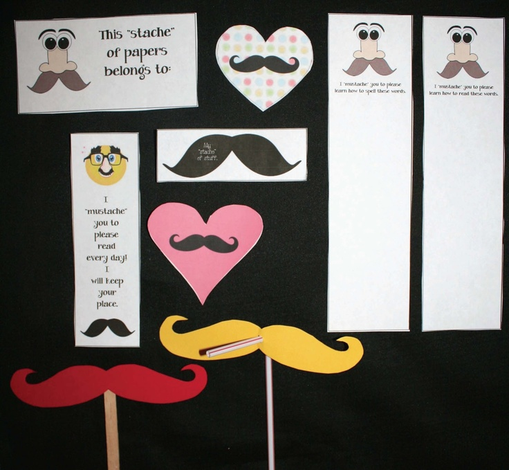 Mustache Classroom Decor ~ Images about mustache day on pinterest