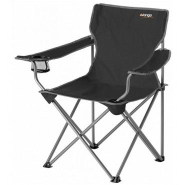 Vango Venice Camping Chair - Black - Camping Chairs - Chairs & Recliners - Furniture