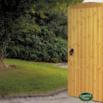 Cherbourne Wooden Side Garden Gate From Cannock Gates