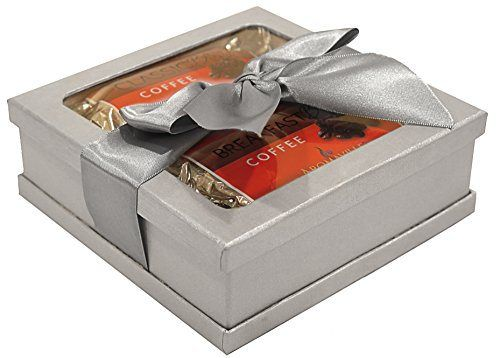 Holiday Gourmet Coffee Gift Set (Silver) - Gourmet Gift for Christmas - Coffee Gift Set - Brewed Coffee Gift - Best Gift for Coworkers, Friends, Boss Etc. - Coffee Gift in Holiday Packaging! - http://mygourmetgifts.com/holiday-gourmet-coffee-gift-set-silver-gourmet-gift-for-christmas-coffee-gift-set-brewed-coffee-gift-best-gift-for-coworkers-friends-boss-etc-coffee-gift-in-holiday-packaging/
