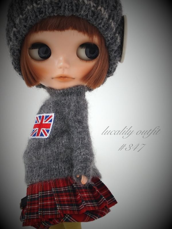 ** Blythe outfit ** Lucalily 347**の画像:mahounote.