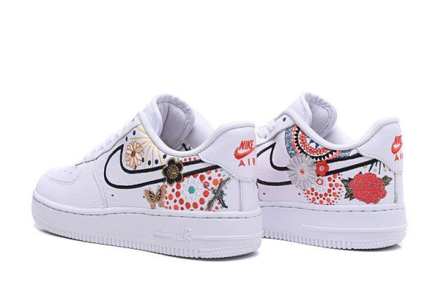 Durable Nike Air Force 1 Low Lunar New Year White Habanero