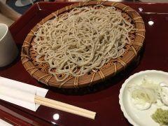 こんなところに老舗蕎麦が  オススメ 羽田空出発13ゲート前の三合庵蕎麦絶品 #蕎麦