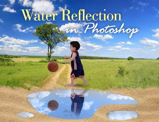 water reflection effect tutorial