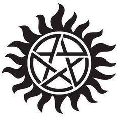 supernatural devil's trap tattoo - Google Search