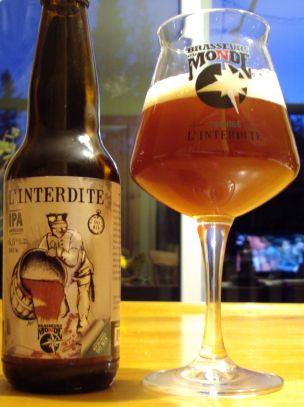L' Interdite 90 Mins IPA - Brasseurs Du Monde #IPA #BièreDuQuébec #Bières…