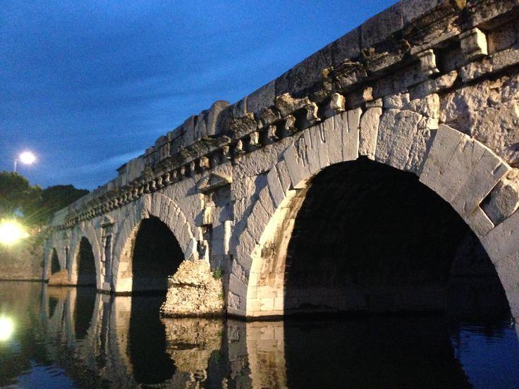 Ponte Tiberio Tiberius bridge. #ponte #rimini #ponteditiberio #emiliaromagna #rivieradirimini #bridge