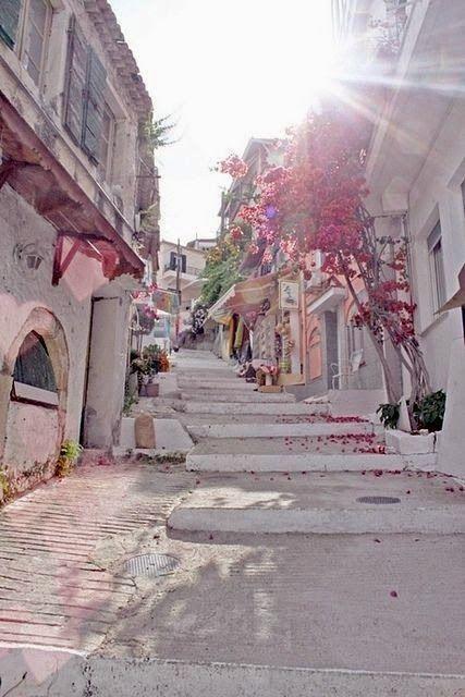 Santorini street, Greece .~* So Beautiful .~* https://aletalove.wordpress.com/