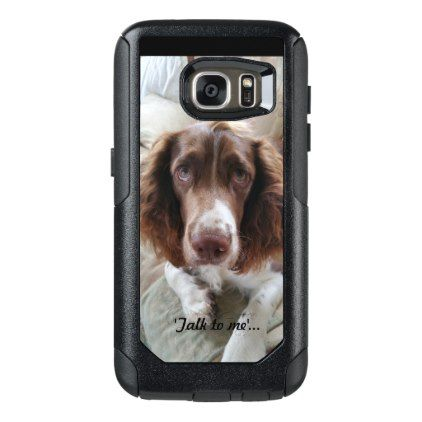 Samsung galaxy S7 mobile phone case/ Springer - gift for her idea diy special unique