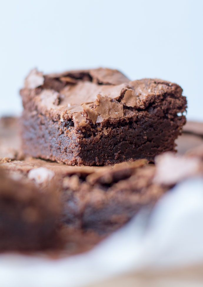 Fudgy chocolade brownies