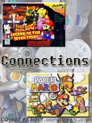 It's not much of a secret that Rachel's favorite video game is Paper Mario for the Nintendo 64 while mine is Super Mario RPG: Legend of the Seven Stars for the SNES. Both of those games…