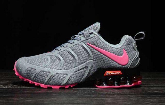 0bc30d05d Womens Nike Air Shox KPU 2019 Footwear Wolf Grey Pink NIKE-NSZ007733 ...