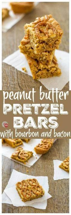 These Peanut Butter These Peanut Butter Pretzel Bars have Bacon...  These Peanut Butter These Peanut Butter Pretzel Bars have Bacon AND Bourbon too! | Take Two Tapas Recipe : http://ift.tt/1hGiZgA And @ItsNutella  http://ift.tt/2v8iUYW