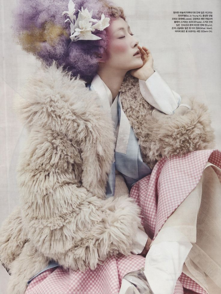 Powdery Flower for Vogue Korea Jan 2014 5