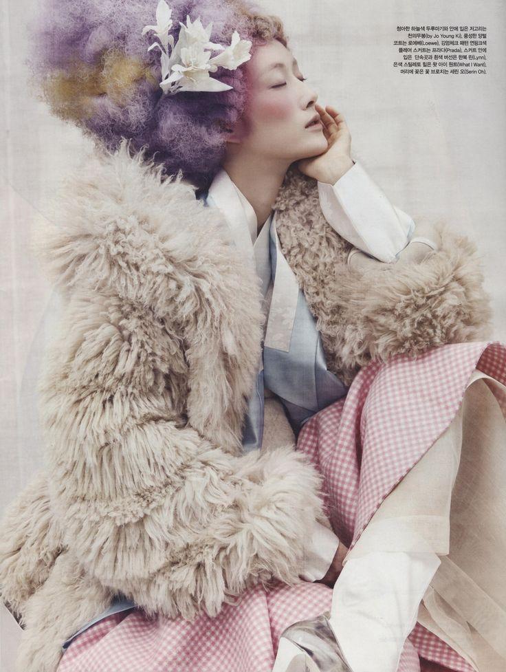 Powdery Flower for Vogue Korea Jan 2014 5