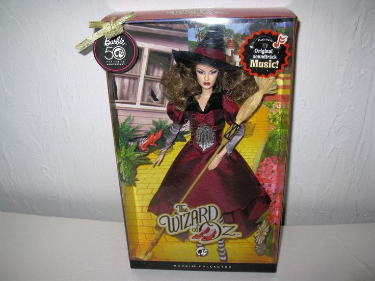 The wizard of oz wicked witch of the east barbie doll th