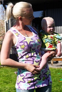 Sy egna kläder i stjärnjersey  Fabric: www.znokdesign.se